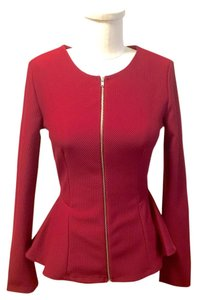 The Vintage Shop Top Burgundy