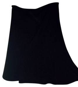 Tahari Designer Office Work Attire Skirt Black