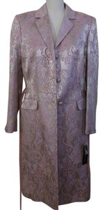 Nipon Boutique Brocade Long Pink Jacket