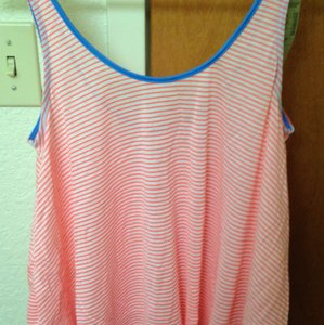 American Eagle Outfitters Top Orange stripe
