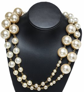 Chanel Chanel Large Pearl 01A Necklace