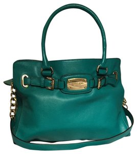 Michael Kors Summer Hamilton Satchel in Aqua