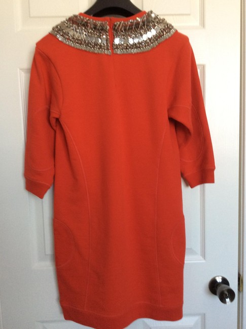 MCQ by Alexander McQueen short dress Red Embellished on Tradesy