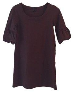 Theory short dress Brown on Tradesy