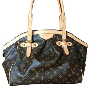 Louis Vuitton Tivoli Retired Satchel in Monogram Coated Canvas