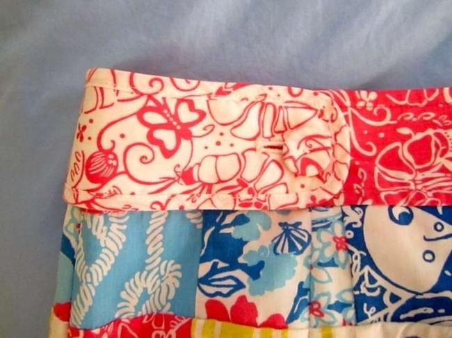 Lilly Pulitzer Mini Skirt Patchwork