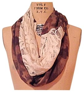 Nordstrom Nordstrom Camouflage Lace Infinity Scarf