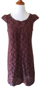 Velvet Torch short dress Brown on Tradesy