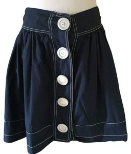 Nick & Mo Mini Skirt Blue