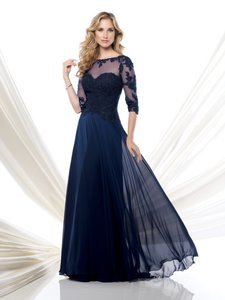 Montage By Mon Cheri Navy 115968 Dress