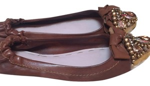 Miu Miu Brown Flats