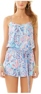 Lilly Pulitzer Shorts Tie Waist Dress