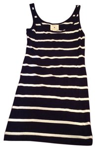 Forever 21 short dress navy and white on Tradesy