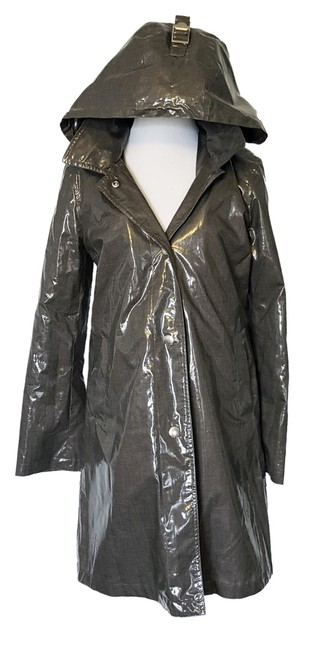 Item - Gray New with Removable Wool Lining Coat Size 2 (XS)
