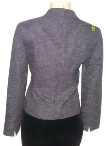 Elie Tahari Purple Tweed Blazer