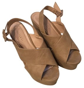 Forever 21 Beige/ light taupe Wedges