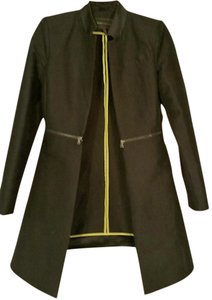 BCBGMAXAZRIA Open Front black Jacket