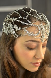 Elena Designs E788 Queen Hera Wedding Headpiece