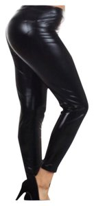 Other Plus Size Curvy Liquid Stretch Black Leggings