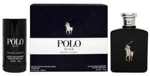Ralph Lauren POLO BLACK By Ralph Lauren Eau De Toilette Spray 2pc Travel Set