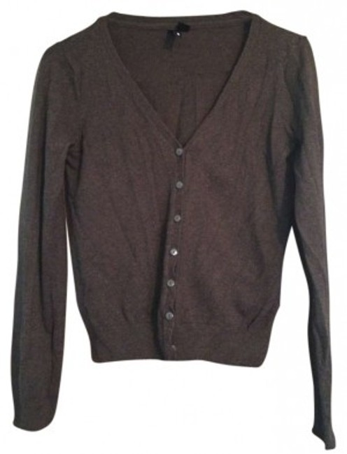 Preload https://item4.tradesy.com/images/h-and-m-brown-chocolate-cardigan-size-8-m-130648-0-0.jpg?width=400&height=650