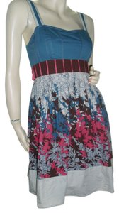 Kimchi Blue short dress blue Coachella Woodstock on Tradesy