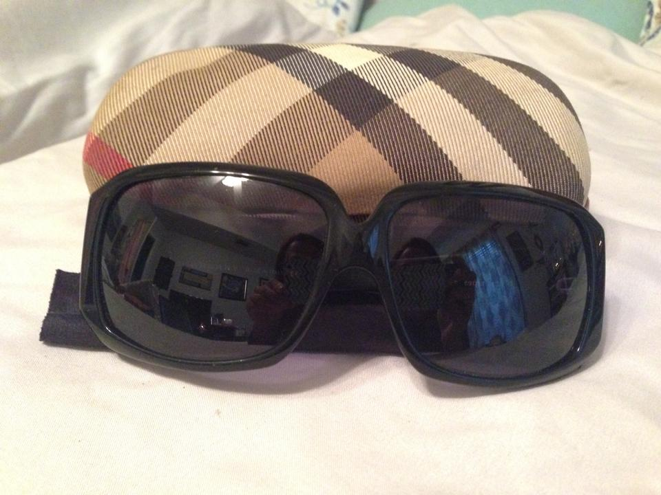 Burberry Black Quilted Print Frame Sunglasses - Tradesy