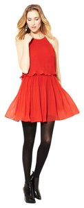 Dolce Vita Cocktail Going Pleated Dress