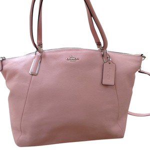 Coach Satchel in Blush