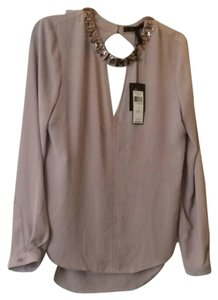 BCBGMAXAZRIA Top Mauve Rose