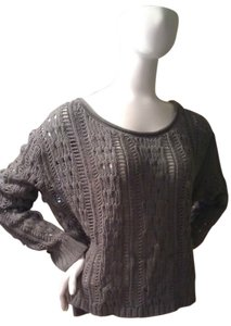 Express Night Out Sexy Open Stitch Sweater