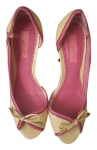 Betsey Johnson pink/mauve/beige Sandals