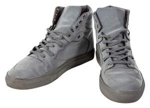 Balenciaga High Tops Mens Sneakers Reflective Gray Athletic