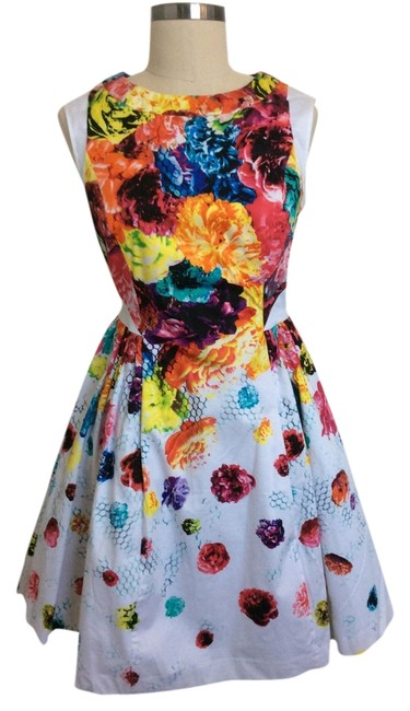 Prabal Gurung Multicolor Above Knee Cocktail Dress Size 6 (S) Prabal Gurung Multicolor Above Knee Cocktail Dress Size 6 (S) Image 1
