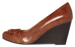 CL by Laundry Brown Wedges