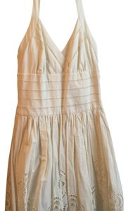 Jessica Simpson short dress Ivory on Tradesy