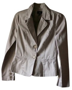 Other Nude Beige Casual Cotton Blazer