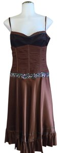 Brown Maxi Dress by Twinkle by Wenlan