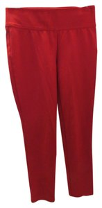 INC International Concepts Straight Pants Red