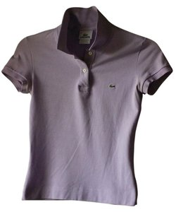 Lacoste Polo Top Lavender