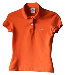 Lacoste Polo Top Orange