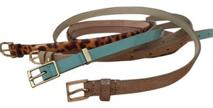J.Crew J.Crew skinny leather belts