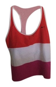 Nike Nike Sleeveless Racer Back Built In Bra Solid Athletic Top
