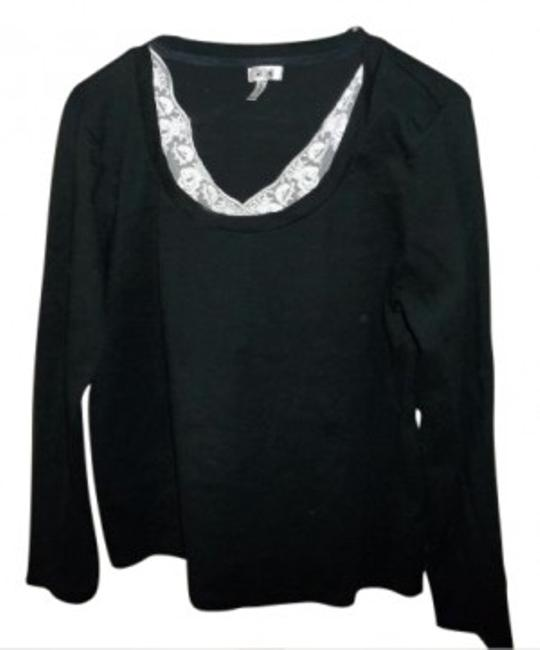 Preload https://item2.tradesy.com/images/aoa-apparel-black-and-white-long-sleeved-shirt-tunic-size-16-xl-plus-0x-13071-0-0.jpg?width=400&height=650