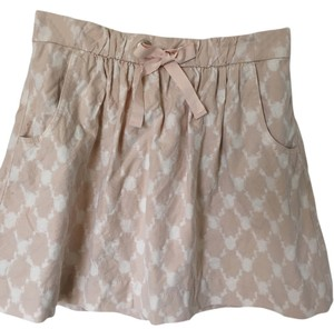 J.Crew Skirt Beige and light pink