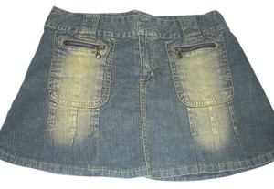 Playboy Mini Skirt denim