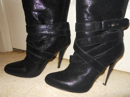 Steven by Steve Madden Leather Brayz black Boots