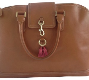 J.Crew Satchel in Saddle
