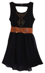 Be Bop short dress black on Tradesy