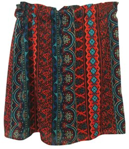 Francesca's Skirt Multi colored